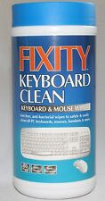 80 x KEYBOARD CLEAN WIPES cloths Fixity mouse Cleaner NEW
