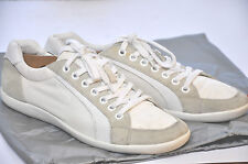 PRADA 4E 1835 mens Grey/White Suede/Textile sneakers shoes size 10, UK10/US11/44