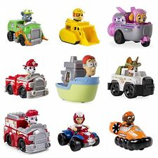 Nickelodeon Paw Patrol Racer Rocky Tracker Captain 14 Different Racers-U Choose!