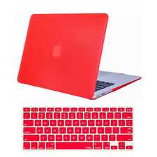 "Crystal Hardcase Shell+Keyboard Cover For Apple Mac Macbook Air 11"" A1370 A1465"
