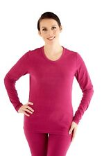ProClimate Ladies Womens Thermal Long Johns & Long Sleeve V-Neck Top Underwear