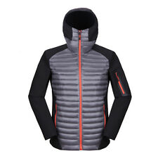 New Mens Winter Ultra-light Puffer Duck Down Warm Jacket Parka Sport Hoodie Coat