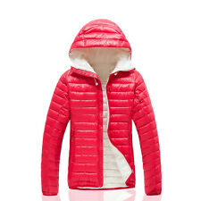 Womens Ultra-light Puffer Duck Down Warm Parka Jacket Outdoor Winter Casual Coat