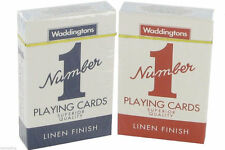 No1 playing card Waddingtons Playing Cards *** CHEAPEST in eBAY **