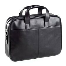 "Clava Leather Top Handle Tuscan 15"" Laptop Briefcase, Computer Bag"