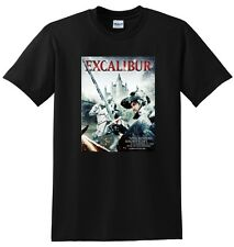 *NEW* EXCALIBUR T SHIRT bluray dvd cover tee SMALL MEDIUM LARGE or XL adult size