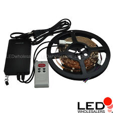 RGB Color-Changing Kit 150xSMD5050 LED Strip + 2-in-1 RF Controller/Power Supply