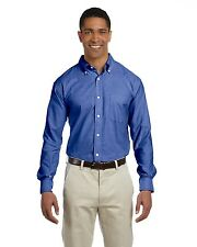 Chestnut Hill Mens Performance Oxford Shirt Big Sizes