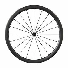 38mm Clincher Tubular Carbon Wheels Bicycle 700C Light Road Bike Bicycle