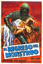 Revenge of the Creature Movie POSTER (1955) Horror/Sci-Fi