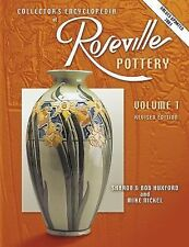 Collectors Encyclopedia of Roseville Pottery HC Like New