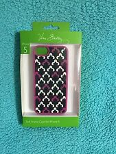New In Package Vera Bradley Soft Frame Case For iPhone 5 - Canterberry Magenta