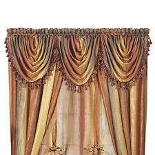 Ombre Waterfall Sheer Window Valance, by Collections Etc
