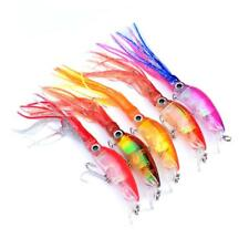 Big Game Soft Plastics Fishing Lures Squid Skirts Trolling Bait Tackle Hooks