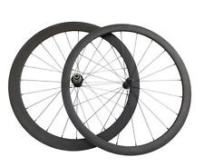 Ultra Light 25mm Width 38+50mm Clincher Carbon Wheels Bicycle Road Bike Wheelset