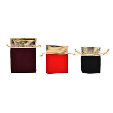 10 PCS New Velvet Jewelry Drawstring Gift Bags Pouch Wedding Party Favors