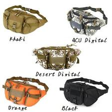 Tactical Hiking Climbing Bike Bicycle Sport Military Army Travel Waist Bag Pack