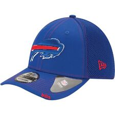 Buffalo Bills New Era Neo NFL 39THIRTY Stretch Fit Flex Mesh Back Cap Hat 3930