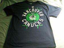 NHL VANCOUVER CANUCKS REEBOK XL T-SHIRT - NEVER WORN - ICE HOCKEY - STANLEY CUP