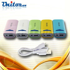 5200mAh Portable External Battery USB Charger Mobile Power Bank for iPhone HTC