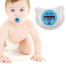 Infants LED Pacifier Thermometer Baby Health Safety Temperature Monitor Kid LX