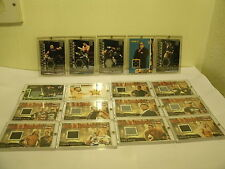 WWF WWE WRESTLING WORN EVENT CARDS RAW IS WAR ALL ACCESS RINGSIDE RELICS
