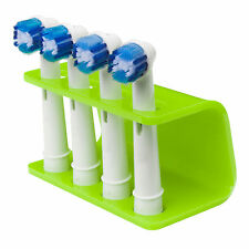 Seemii Toothbrush Holder for  Oral B Electric Toothbrush Heads, Lime Green