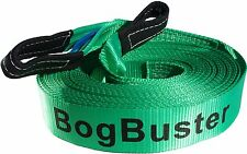 BOGBUSTER WINCH EXTENSION STRAP ROPE 20 METRE 10000 KG TOW RECOVERY 4X4 4WD