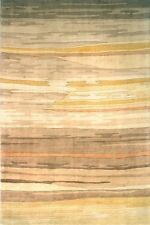 Momeni New Wave 13 Sand Area Rug Modern Contemporary Wool All Sizes