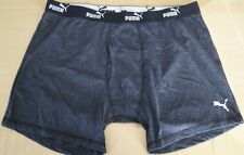 Puma Men's Boxer Brief Sport Fit Gray L 36/38 New Athletic Underwear