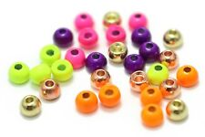 Tungsten Beads 30 Pcs 3.45 MM 6 Colors  Fly Tying Beads Fly Tying Materials