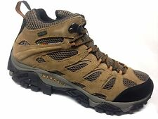 Merrell Moab Mid Waterproof Hiking Boot Mens WIDE WIDTH Earth