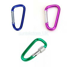 Pear Shape Carabiner Camping Hiking Snap Hook Clip Clamp Keychain Keyring Sport