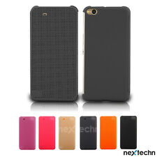 Latest Fashion Slim Dot View Flip Leather Case Cover for HTC One X9
