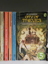 Ian Livingstone & Steve Jackson - Fighting Fantasy Books - 5 Books!(ID:40794-95)