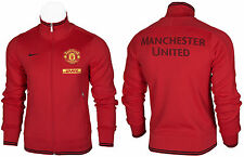 SALE NIKE N98 FC MANCHESTER UNITED OFFICIAL MEN'S FULL ZIP TRACK TOP JACKET S-XL