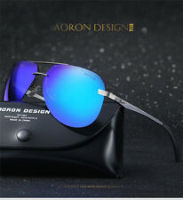 2017 Polarized Mens Sunglasses Outdoor Sports Eyewear Driving Mirrored Glasses