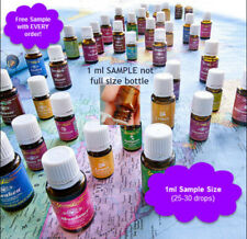 Young Living Essential Oil Samples 1 ml Free Shipping & Freebies with ALL Orders
