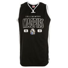 Collingwood Magpies AFL Football Mens Basketball Singlet Jersey