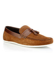 RED TAPE HOUGHTON MENS SUEDE LEATHER TAN SLIPON CASUAL SHOES