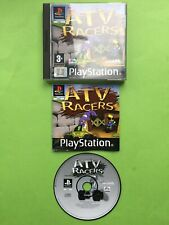 ATV Racers PS1 Sony Playstation 1 PAL Game + Works On PS2 & PS3