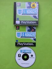 F.A. Manager PS1 Playstation 1 PAL Game + Works On PS2 & PS3 + Disc Only Option
