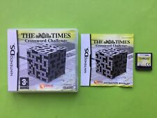 The Times Crossword Challenge DS PAL Game Compatible With 3DS XL