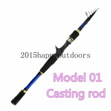 Casting Rod Telescopic Fishing Rods Fishing Tackle Fish Pole Equipment 1.8-2.7M