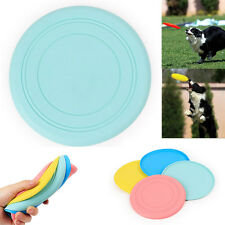 2016 Pet Dog Silicone Flying Saucer Pet Frisbee Toy For Dog Training