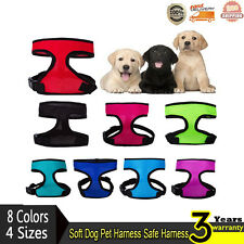 NEW! High Quality Mesh Soft Pet Dog Puppy Harness Safe Harness Any Color & Size