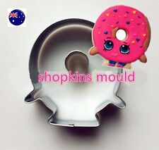 Shopkins Donuts Cookie Biscuits Cake Chocolate Fondant Chocolate  Mould mold