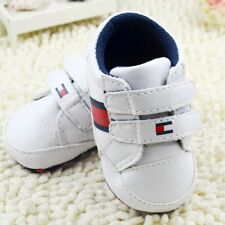 Toddler Baby Boy White Crib Shoes Casual Sneakers Size Newborn to18Month