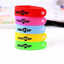 ANTI MOSQUITO BUG REPELLENT WRIST BAND BRACELET INSECT BUG LOCK CAMPING MOZZ