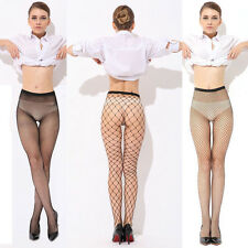 Sexy Women Ladies Fishnet Net Pattern Burlesque Hoise Pantyhose Tights Black